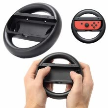 gaming-accessories-Высокое качество Durable 2 Pcs Racing Game Steering Wheel для Nintend Switch Remote Helm Game Wheels для контроллера Nintendo Switch on JD