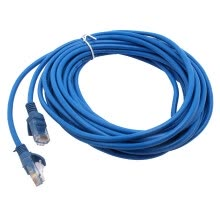 875061464-LAN NETWORK PATCH CABLE Efficient 8M 1FT ETHERNET CAT5 CAT5E 15*15*5cm BLUE Best on JD