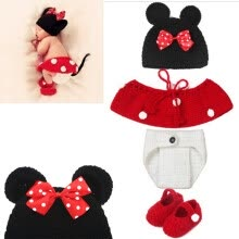 8750203-Newborn Boy Girl Baby Crochet Knit Costume Photography Photo Prop Hat Outfit on JD