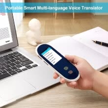 875062507-Multi Language Real Time Translator Portable Smart Multi-language Voice Translator Device 35 Languages Two-way Real-time Interpret on JD