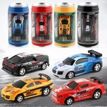 -4 Colors Hot Sales 20KM/H Coke Can Mini  Remote Control Micro Racing Car Toy For Children on JD