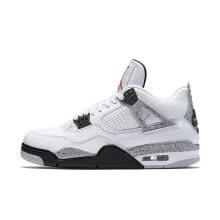 0de94f4e740 Nike Air Jordan 4 OG AJ4 White Cement Men s Basketball Shoes Sports Sneakers  for Men 840606-192