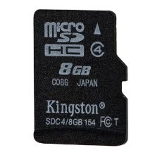 memory-cards-Original Hot-selling Kingston Class 4 8G 16GB MicroSDHC TF Flash Memory Card 4MB/s Minimal Speed with Adapter on JD