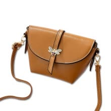 3177b341ad Wei Luo (WeiLuo) handbag mini diagonal package bee decoration girl sweet shoulder  bag khaki