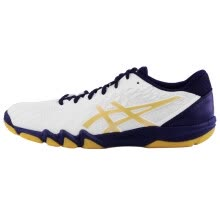 -IELTS (asics) table tennis shoes ATTACK BLADELYTE 4 indoor sports shoes neutral section 1073A001 1073A001-100 white / blue 43.5 on JD