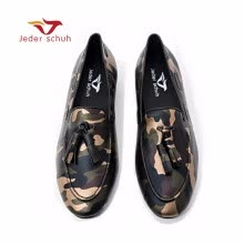 -Men loafers Handmade men army green camouflage loafers Man military style casual shoes fashion party smoking slippers on JD