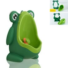 -Kids Frog Potty Toilet Urinal Pee Trainer Wall-Mounted Toilet Pee Trainer Penico Pinico Children Baby Boy Bathroom Frog Urinal on JD