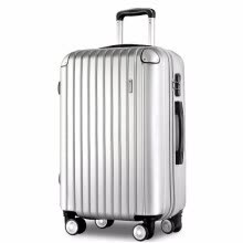luggage-suitcases-Modine Neutral universal wheel trolley case Wear-resistant ABS suitcase 20 inch boarding 24 inch suitcase Men and women boarding on JD