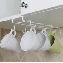 other-kitchen-supplies-Coffee holder wine holder hanging nail-free partition board water bottle holder creative kitchen supplies storage rack on JD