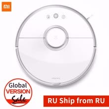 Robot-Vacuum-Cleaner-Global Version New Original Xiaomi Roborock Robot Vacuum Cleaner 2 Smart Cleaning Integration Auto Recharge Ultra Suction APP on JD