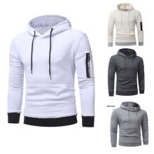 sweatshirts-2018 New Autumn and Winter Men's Sweater Long-sleeved Hoodie Sweatshirt Jacket on JD