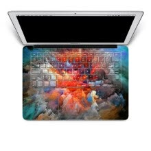 -GEEKID@Macbook Pro 15 decal keyboard sticker full decal boom keyboard sticker US style keyboard protector on JD