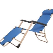 -Red camp recliner Folding chair nap chair office simple bed saddle bed outdoor beach chair on JD