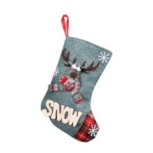 -Christmas Stocking Socks Gift Candy Bags Xmas Tree Ornament Pendant Party Decorations Santa Snowman Reindeer on JD