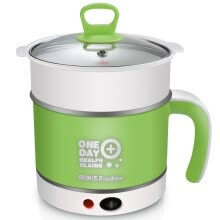 8750204-Rongstar (Royalstar) electric cooker multi-function electric pot student dormitory cooking pot electric hot pot electric cup 1.5L mini electric pot DZG15D on JD