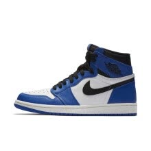 9a223cf0fa9e Authentic Original Nike Air Jordan 1 OG Retro High OG Game Royal Blue White  Black Men s basketball shoes AJ1 555088-403