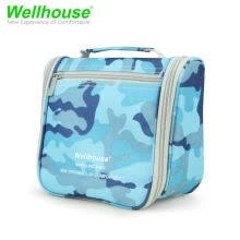 -Wellhouse 1pc Toiletry Bag Makeup Organizer Cosmetic Bag Portable Travel Kit Waterproof Organizer Storage Pack Case on JD