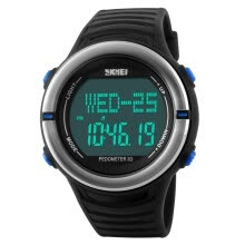 -Moment beauty skmei sports watch male outdoor compass multifunction student luminous electronic watch 1216 black on JD