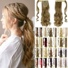 -17/24'   Wrap Around Ponytail Extension for Woman  Hair 125-145g on JD