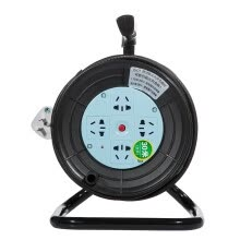 -Breeze outlet (kyfen) QF-C2 four long-term mobile cable reel socket length of 30 meters on JD