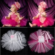 wedding-parties-Baby Toddler Infants Girl Sweet Cute Party Chiffon Tutu Dress Newborn Shirts  SS on JD