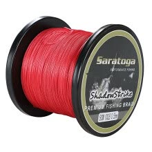 -8Strands Red 100m-2000m 10LB-300LB Test Braided Fishing Line on JD
