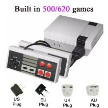 -Mini TV Game Console 8 Bit Retro Video Game Console Built-In 620 Games Handheld Gaming Player AV Port on JD