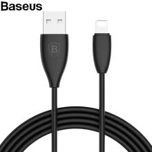 875061539-Baseus 2A  lightning Cable for iphone charging and data transfer  USB Cable  1.2M on JD
