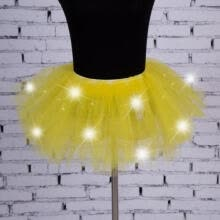 -Sexy Girls Light Up LED Tutu Stage Dance Tutu Short Mini Skirt Dancewear Evening on JD