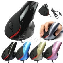 875061464-Ergonomic Design USB Vertical Optical Mouse Wrist Healing For Computer PC Laptop on JD