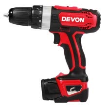 8750209-Great (Devon) 5230-Li-12TSI 12V lithium battery rechargeable two-speed three-way impact drill aluminum box set on JD