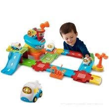 -Vtech magic big rail fire truck model toy helicopte on JD