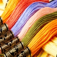 87502-50 Pieces Original French DMC 117UA Thread Embroidery Cross Stitch Floss Thread 8.7 Yard Long 6 Strands on JD