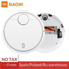 home-improvement-Original XiaoMi MI Mijia Robot Vacuum Cleaner for Home Automatic Sweeping Smart Planned WIFI APP Control Dust Sterili Cleaning on JD