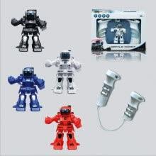 -Elegance parent-child toy mini combat RC robot, remote control robot with 2.4 G controller great fun play with friends family  . on JD