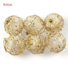 balloons-6Pcs Christmas Tree Xmas Balls Decoration Baubles Party Wedding Ornament Pretty on JD