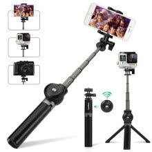 selfie-sticks-Leelbox Bluetooth Selfie Stick with Tripod and Detachable Wireless Remote on JD