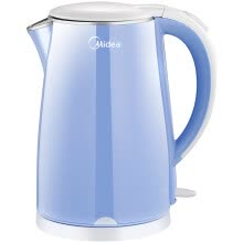 -Midea (Midea) electric kettle WHJ1705b 304 stainless steel electric kettle 1.7L capacity double anti-burning kettle on JD