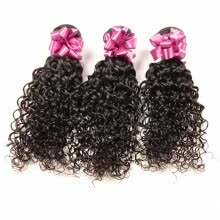 -Malaysian Curly Hair Virgin Jerry Curl Malaysian Curly Weave Human Hair Extensions Remy Hair Bundles Virgin Malaysian Hair Weft on JD