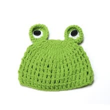 -Lovely Newborn Infant Baby Knit Crochet Hat Photography Prop Costume Cap Beanie on JD