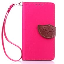 mobile-decorations-Pink Design PU Leather Flip Cover Wallet Card Holder Case for Microsoft Lumia 930 on JD