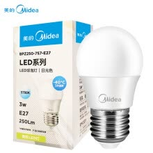 -Midea LED Bulb 3W E27 Screw Base on JD