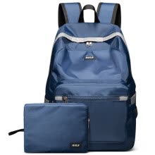 -Golf GOLF waterproof nylon shoulder bag men and women backpack 14 inch student bag D6BV86732J blue on JD