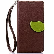 mobile-phone-bags-Brown Design PU Leather Flip Cover Wallet Card Holder Case for Lenovo A2010 on JD