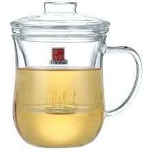 -【Jingdong Supermarket】 One house kiln heat-resistant glass Japanese three-piece set of tea cups 300ML FH-361 on JD