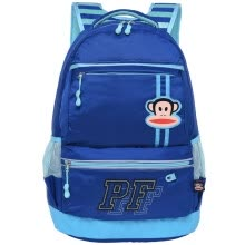 -Big mouth monkey (Paul Frank) leisure school bag students leisure simple fashion backpack bag PKY2107A treasure blue on JD