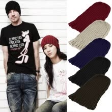 -New Unisex Men Women Boy Hip-Hop Warm Winter Wool Knit Ski Beanie Cap Hat on JD