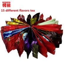 -C-WL055 Promotion 15 DifferentTea Chinese Oolong PuEr Black Green Milk Oolong Ginseng flower  Buckwheat  Liver Tea on JD