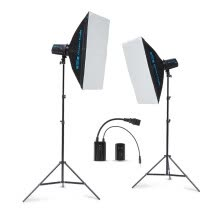 -Golden Eagle Le TX250W dual lamp suit photographic light studio light flash studio photography light soft light box suit product documentation camera equipment photographic equipment on JD