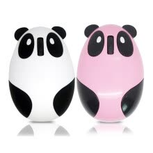 mice-MyMei 1pcs Panda Recharge Mouse Mouse Mouse Mat Office gift for computer White Hot Pink on JD